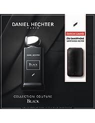 DANIEL HECHTER Coffret Eau de Parfum Black 100 ML avec Etui de Smartphone