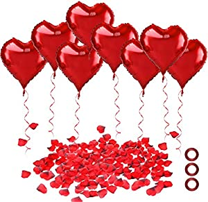 30 pcs corazón Globos +