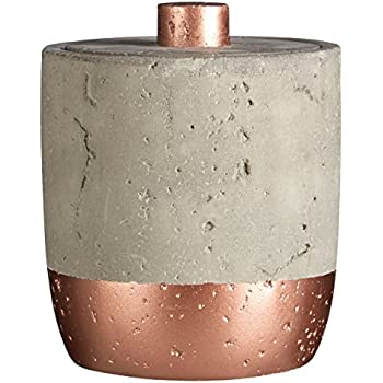W14 x D11 x H3cm Get Goods Neptune Oval Soap Dish copper