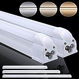 2 piezas, G5 de casquillo, 12W 90CM 2835 SMD T5 LED Tubo Fluorescente Lamapra Luz Blanco frío, 1100 lm, 6000K, AC100-240V, No necesita arranque o rectificador / lastre