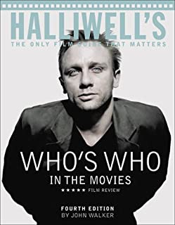 Halliwell's Who's Who in the Movies (0007169574) | Amazon price tracker / tracking, Amazon price history charts, Amazon price watches, Amazon price drop alerts