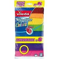 Vileda Lavettes microfibres Colors (8pcs)