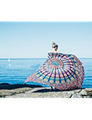 WDBS Europe Tour tapis de plage Sun shawl wrap jupe
