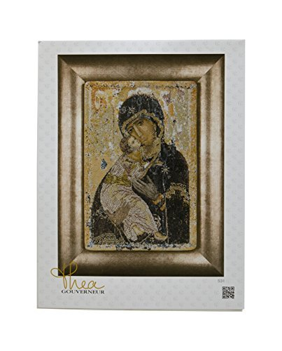 Thea Gouverneur 18 Count Counted Cross Stitch Kit, 8-3/4 by 13-Inch, Our Lady of Vladmir on Aida by Thea Gouverneur - Kreuzstich-thea Gouverneur