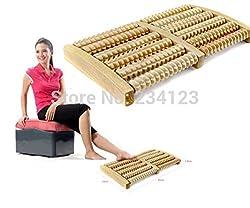 Wooden Roller Body Foot Relax Stress Relief Massager Board