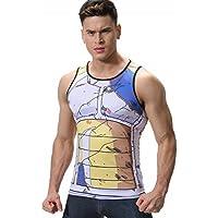 Cody Lundin hombres chaleco mezcla impresión película personaje logo camiseta hombre hombres sin mangas t-shrit