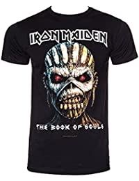 Iron Maiden Black T Shirt The Book of Souls (XLarge)