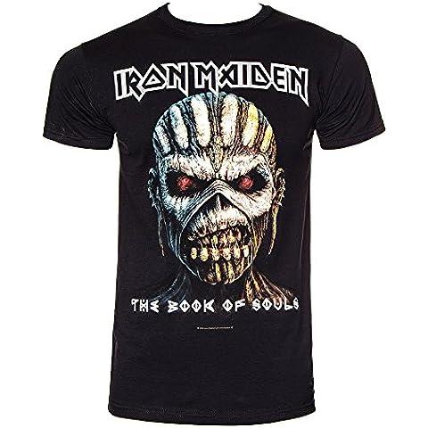 T Shirt Book Of Souls Iron Maiden (Nero) - Collezione Tribal