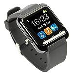 [Vesión Nueva] HAMSWAN Smartwatch Bluetooth 4.0 Multi-idiomas Soporte de 2016/7 Sistema Andriod Reloj con Cámara/Cronómetro/Pódometro/Monior de Dormir/Pantalla Táctil Adecuado como Huawei Samumg Xiaomi HTC etc.