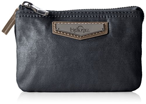 Kipling - Creativity S, Monederos Mujer, Schwarz (Night Metal), One Size