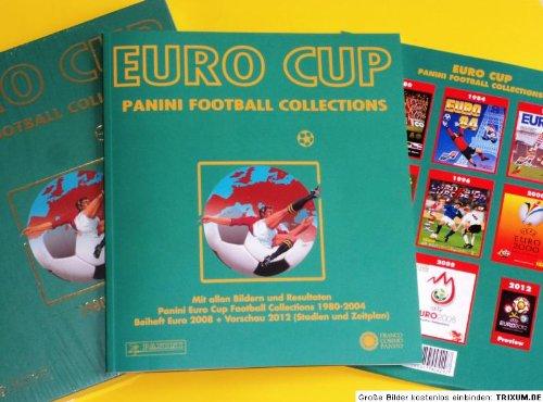 Panini Euro Cup Football Collections Paket 1980-2008 + Vorschau 2012 (Stadien und Zeitplan) -