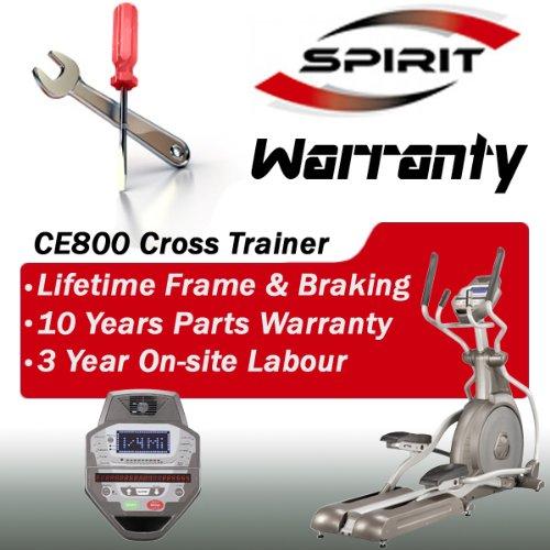 Spirit CE800 Cross Trainer, Commercial Club Serie - 5