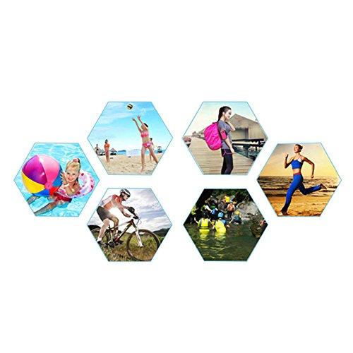Highdas Unisex Strandschuhe Aquaschuhe Schwimmschuhe Badeschuhe Wasserschuhe Surfschuhe mit Rutschfeste Sohlen für Damen Herren Aquaschuhe Rutschfeste Neoprenschuhe 22#