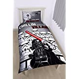 LEGO Star Wars Diseño de villanos juego de cama para cama individual