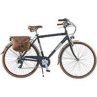 Via Veneto By Canellini Bicicleta Bici Citybike CTB Hombre Vintage Retro Dolce VIta Aluminio black matt