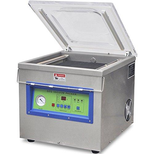 vidaXL Profi Vakuumierer Stand Vakuummaschine Vakuumgerät Vakuumiergerät Edelstahl 750W