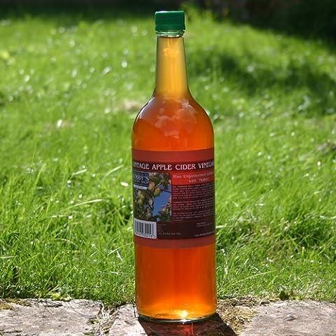 Vintage Vinaigre De Cidre De Pomme avec