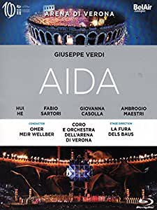 Verdi: Aida (La Fura de Baus) [Blu-ray] [2014] [Region A & B]
