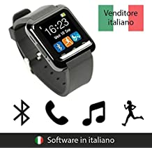 endubro SMARTWATCH U8 OROLOGIO ANDROID DIGITALE TOUCHSCREEN BLUETOOTH - MENÙ IN ITALIANO PER SAMSUNG, HTC, HUAWEI, ZTE, LG, HTC, Ecc.