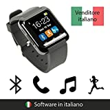 endubro SMARTWATCH U8 OROLOGIO ANDROID DIGITALE TOUCHSCREEN BLUETOOTH - MENÙ IN ITALIANO PER SAMSUNG, HTC, Sony, LG, HTC, Ecc.