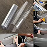 #2: CVANU Transparent Car Protective Film Vinyl Wraps 12''x25''