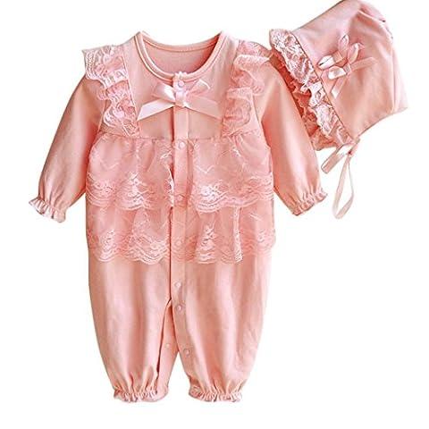 Bekleidung Longra Neugeborenes Baby jungen Mädchen Mütze Hut + Spitze