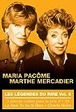 Les Légendes du rire - Vol. 5 : Maria Pacôme + Marthe Mercadier