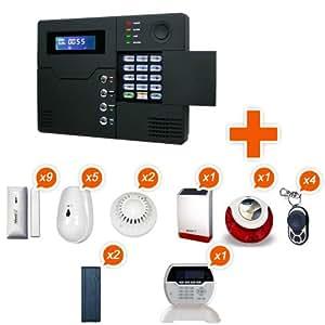 Alarme Maison sans fil Atlantic'S ST V - Kit 11