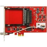 TBS-6290 SE DVB-T2/C Doppel-Tuner, PCIe Terrestrische oder Kabel-TV-Karte mit CI, HDTV Empfangskarte PayTV Tuner Karte