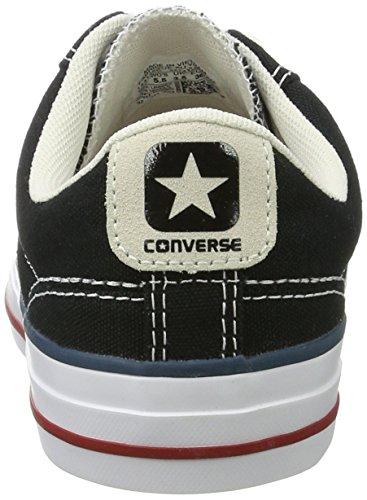 Converse  Star Player, Basses mixte adulte Schwarz (Black)