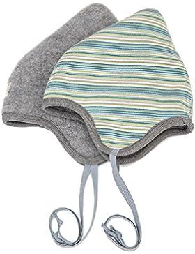 PickaPooh Baby/Kleinkind Wendemütze Flora Bio-Baumwolle/Bio-Wolle