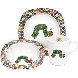 Portmeirion The Very Hungry Caterpillar 3 Piece Plate, Bowl & Mug Set