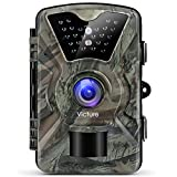 Victure Wildlife Camera 1080P 12MP Trail Game Camera Motion Activated Night Vision 20m