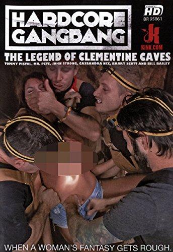 Preisvergleich Produktbild Hardcore Gangbang -The Legend of Clementine Caves (Kink.com)