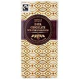 Marks & Spencer Chocolate Negro Con Trozos De Jengibre Madre 100g (Paquete de 4)