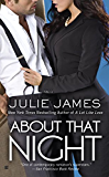 About That Night (FBI/US Attorney Book 3) (English Edition)