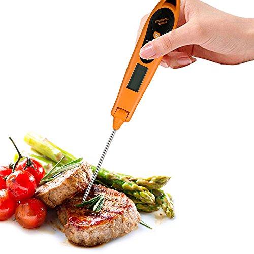 symboat Handhold tragbar Probe Digital Grill Lebensmittel Thermometer mit LCD Grill Küche Werkzeug