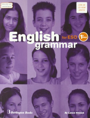 English Grammar For ESO. 1st Cycle