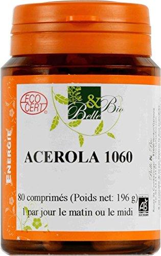 BELLE ET BIO - Acerola Bio - 80 comprimés