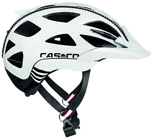 Casco Activ 2 Fahrradhelm, Weiß-Schwarz, L