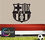 BARCELONA FOOTBALL CLUB BADGE, SIZE APPROX 700 X 710 mm WALL ART STICKER DECAL MADE BY PROFILE SIGN by PROFILESIGNS.CO