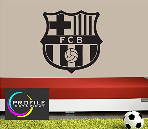CO Profile Sign - Adesivo da Parete con Logo Barcellona Football Club 37d69a38aeff9
