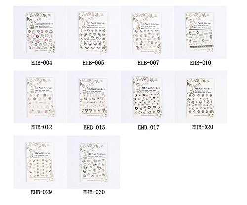 Hitommy Manicure Sticker Watermark Nail Sticker - EHB-007