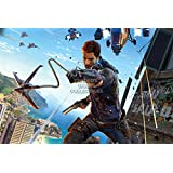 "CGC enorme – Póster de Just Cause 3 Rico PS3 XBOX 360 pc – jus008, papel, 24"" x 36"" (61cm x 91.5cm)"