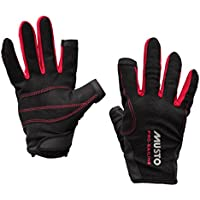 Musto Essential Sailing Long Finger Gloves BLACK AS0803 Sizes- - ExtraLarge
