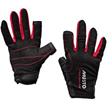 Musto Essential Sailing Long Finger Gloves BLACK AS0803