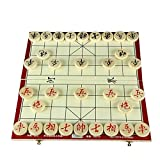 Traditional Wooden Xiangqi Chinese Chess Checker Game GB1215
