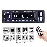 ieGeek Bluetooth autoradio MP3, USB/ricevitore con ricevitore audio/lettore MP3/radio FM/FM per...
