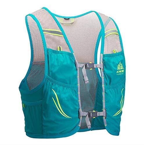 AONIJIE Mochila de hidratación de 2,5 litros, para maratoner, Correr, Carreras, Chaleco de hidratación...