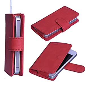 DSR Pu Leather case cover for Micromax Canvas Power A96